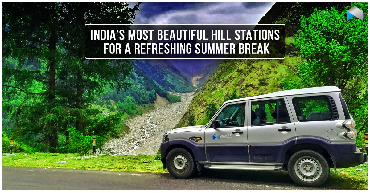 Hills are calling! Beat the heat with a drive.  #Volercars #SelfDrive #CarSharing #CarLove #Hills #Summer #ItsMyDrive #Beattheheat #Summervacation<br>http://pic.twitter.com/dvzdJM7q4h