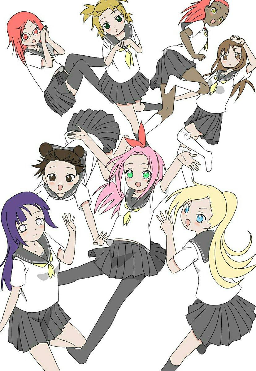 Tenten Lee On Twitter Naruto Girls Yuru Yuri Haruno Sakura