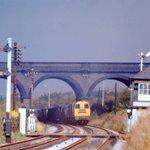 Image for the Tweet beginning: Via David Hanger  1974 Bulwell Viaduct,