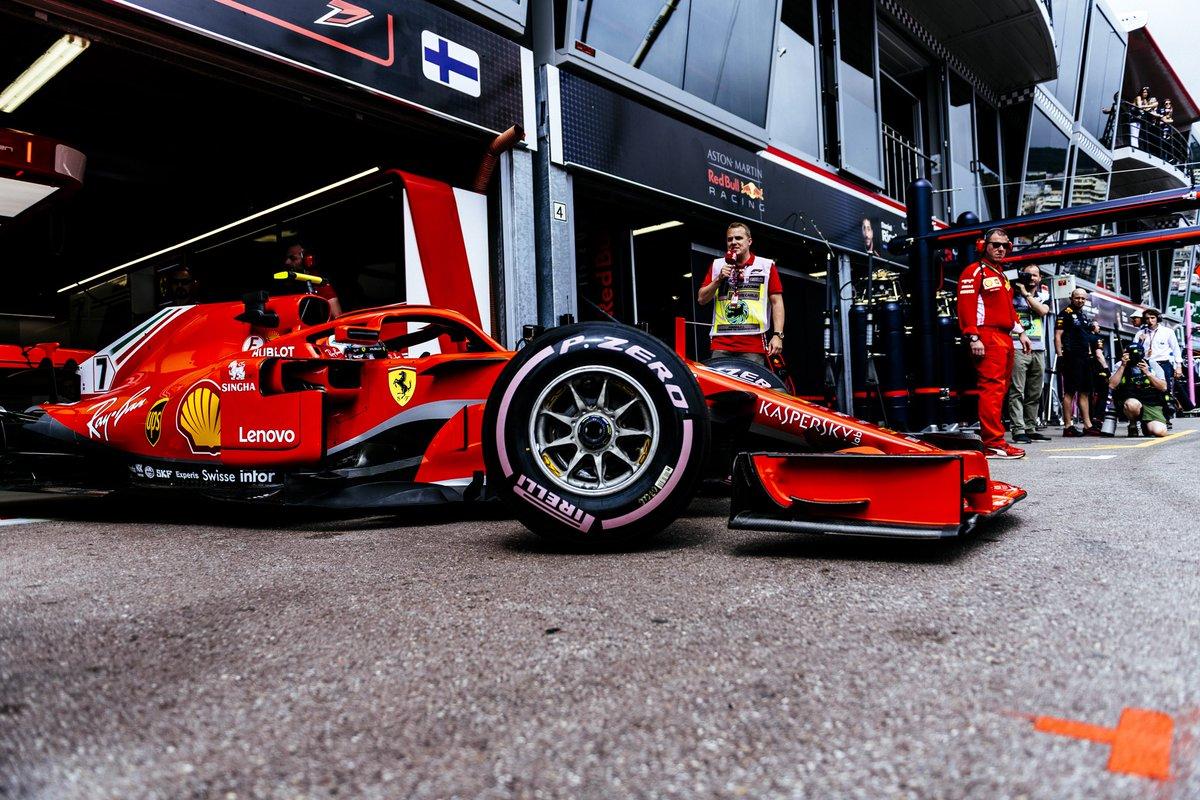F1 2018 Monaco GP - Free Practice 3