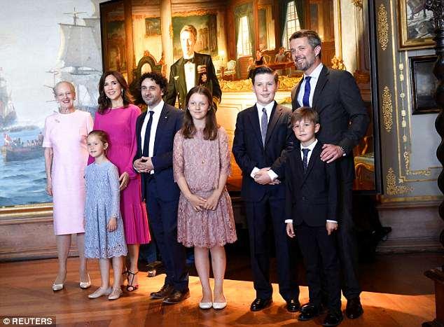 Happy birthday to Crown Prince Frederik of Denmark !!