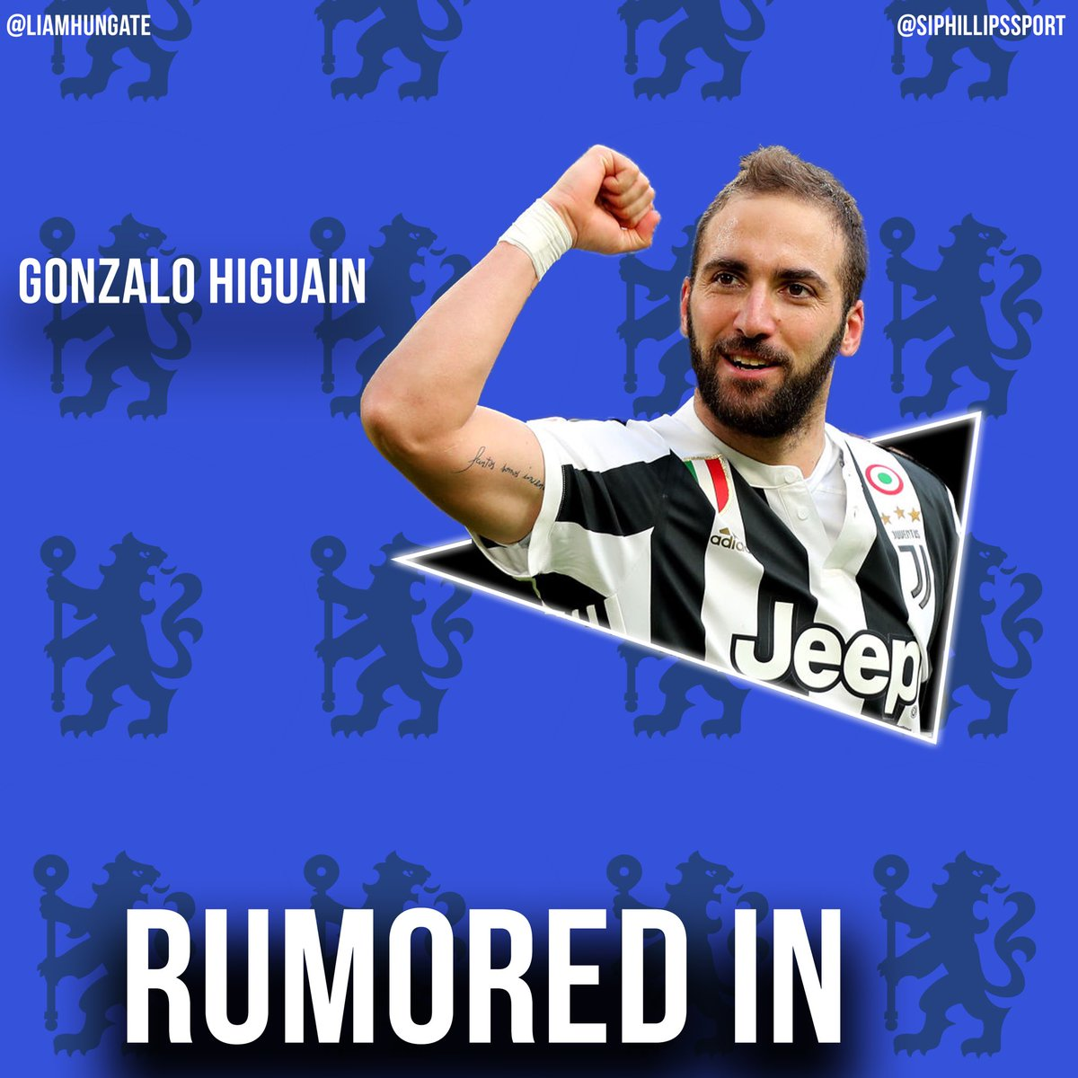 Gazzetta dello Sport report that Maurizio Sarri will look to sign Gonzalo Higuain at Chelsea, with Alvaro Morata set to be allowed to join Juventus.
