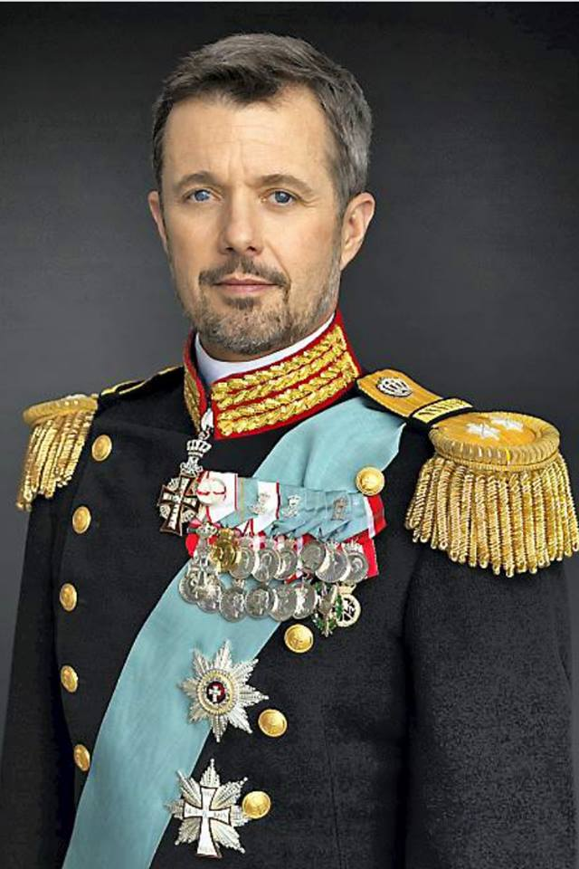 Happy Birthday to our Prince Frederik  . 50 Years