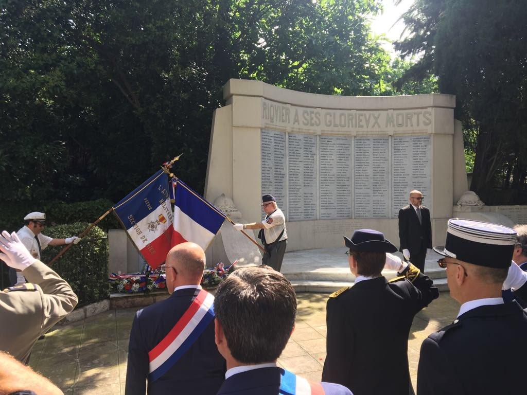 Cérémonies du 74 anniversaire du Bombardement de #Nice06 avec Philippe Rossini. N'oublions jamais les Morts pour la France et cette tragédie dont notre ville fut victime, notamment ces quartiers Saint-Roch, Riquier, Pasteur et République