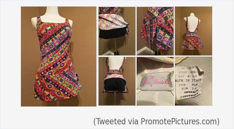 898f987f349a5 Vintage Rose Marie Reid one piece Bathing Suit swim dress Nylon Size 14    eBay #rosemariereid #vintage #vintageclothing #vintageswimsuit #beach  #shopping ...