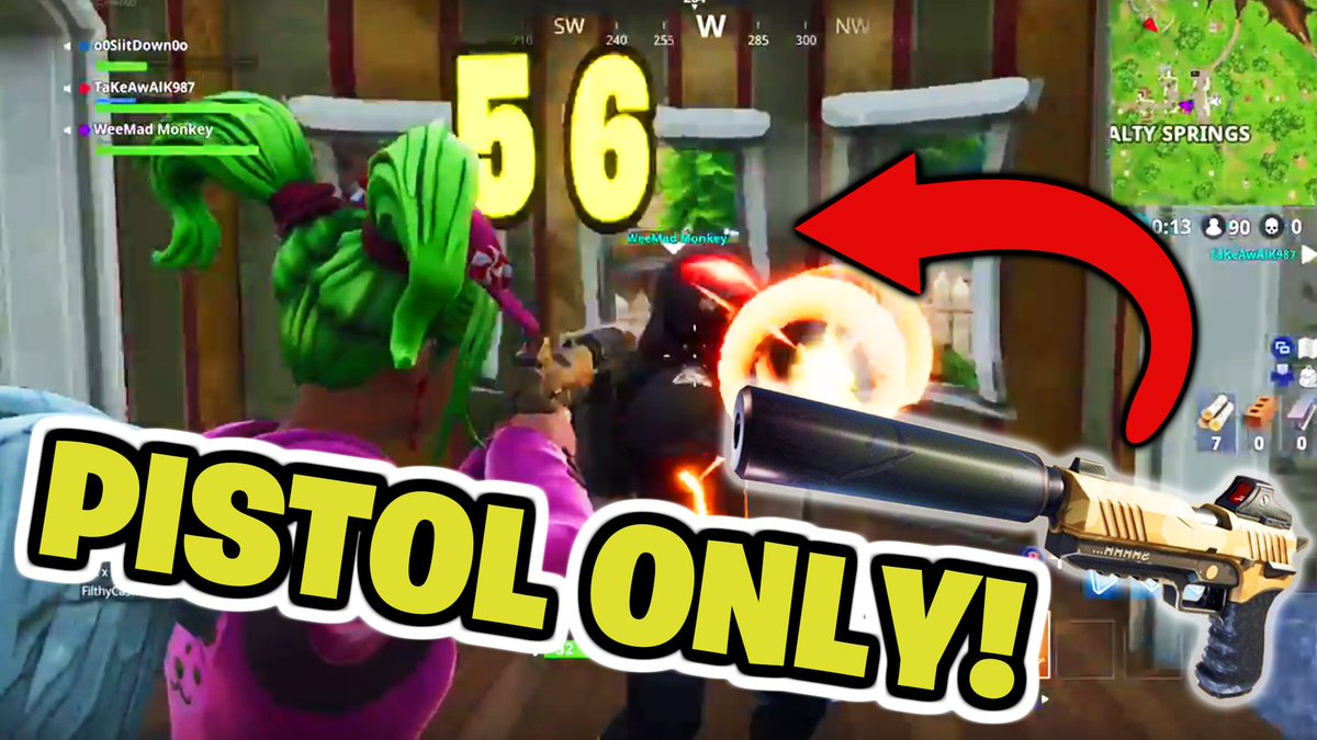 Check out this SWEET clip from @OhZeroGameplay on @YouTube Killing a whole squad solo style with just a silenced pistol  https://www. youtube.com/watch?v=ENdLK0 7XAB8 &nbsp; …  … #GeekAtHeart #o0sitdown0o #Fortnite #FortniteClips @FortNiteClipz @Fortnite_BR #SupportSmallStreamers #solosquadkiller #MythicBooster<br>http://pic.twitter.com/lwx1PA5FMM
