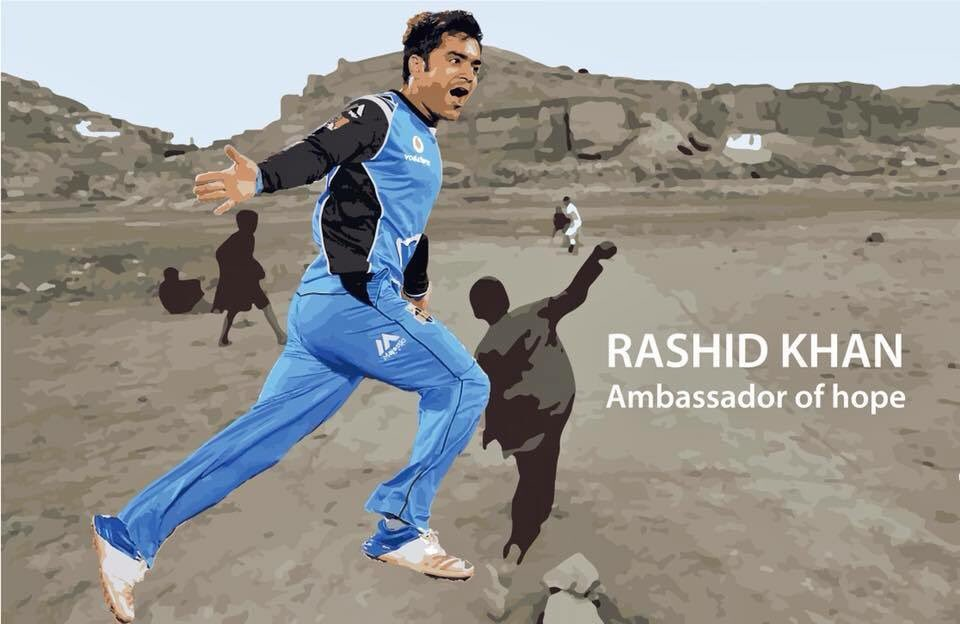 Proud of you @rashidkhan_19 and thank you for representing Afghanistan in a positive picture to the world.