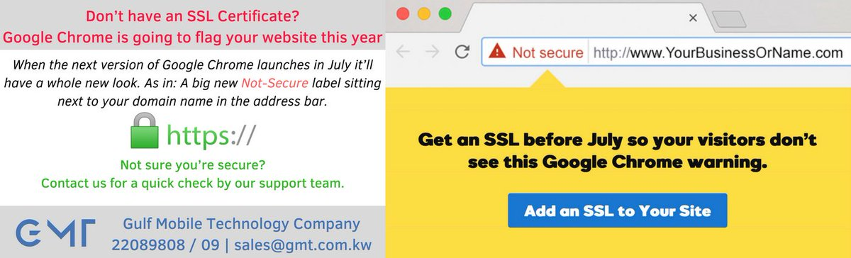 Gulf Mobile Technology Company On Twitter Dont Have An Ssl