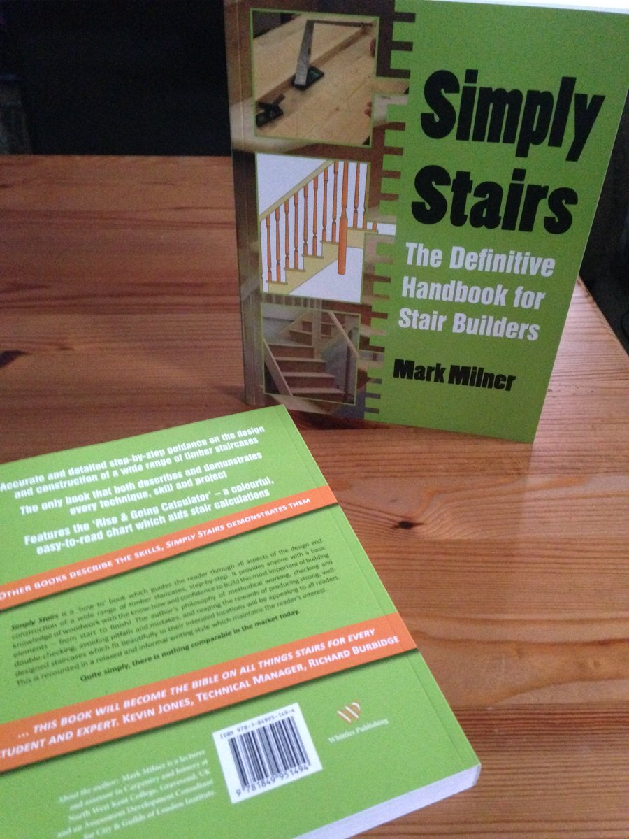 Mark Milner On Twitter The Stairhand A Joinery Shop S Most Respected Position Anyone Disagree Simplystairs Carpentry Joinery Woodworking Book 1bestseller Stairs Staircases Woodjoints Woodwork Design Build Timber Wood Lestnic