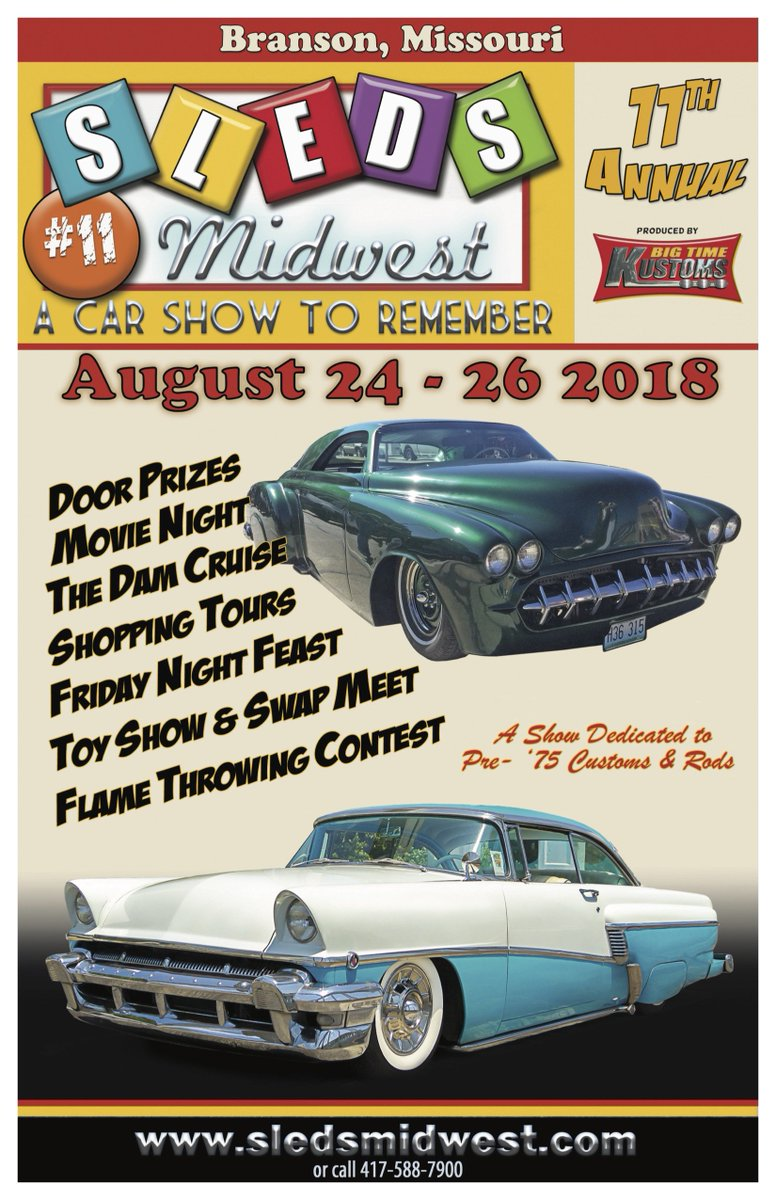 Sleds Midwest Bigtimekustoms Twitter - Car show in branson mo 2018