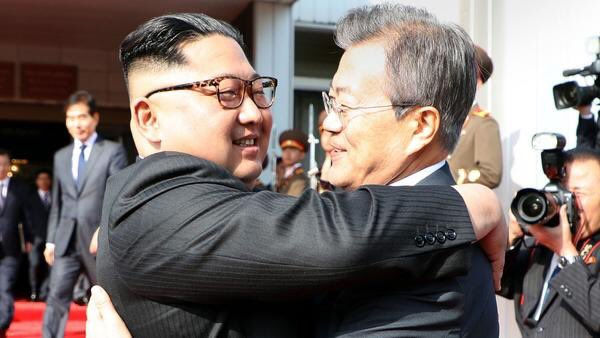 North and South Korean leaders meet for second time in a month
