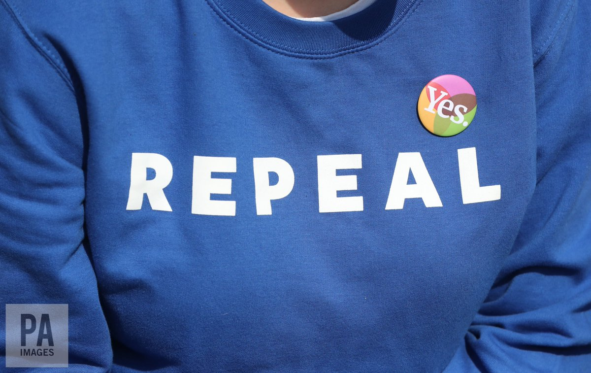 OFFICIAL: The Eighth Amendment has been repealed https://t.co/Bknfgu4UZz #8thRef