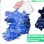 RT @IrishPolMaps: Here it is, the final result. 66...