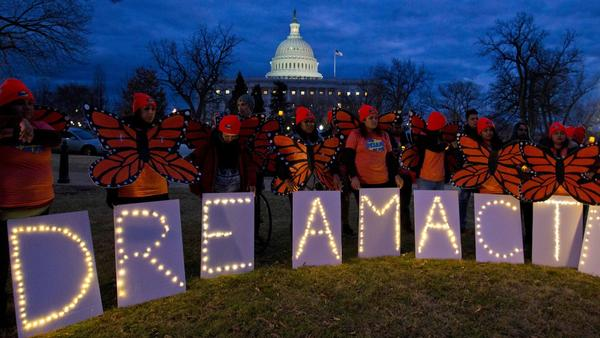"""Seventeen years after the DREAM Act was first introduced in Congress, the long nightmare of the """"Dreamers"""" continues, writes @SteveChapman13 https://t.co/5JBTgdWuza"""