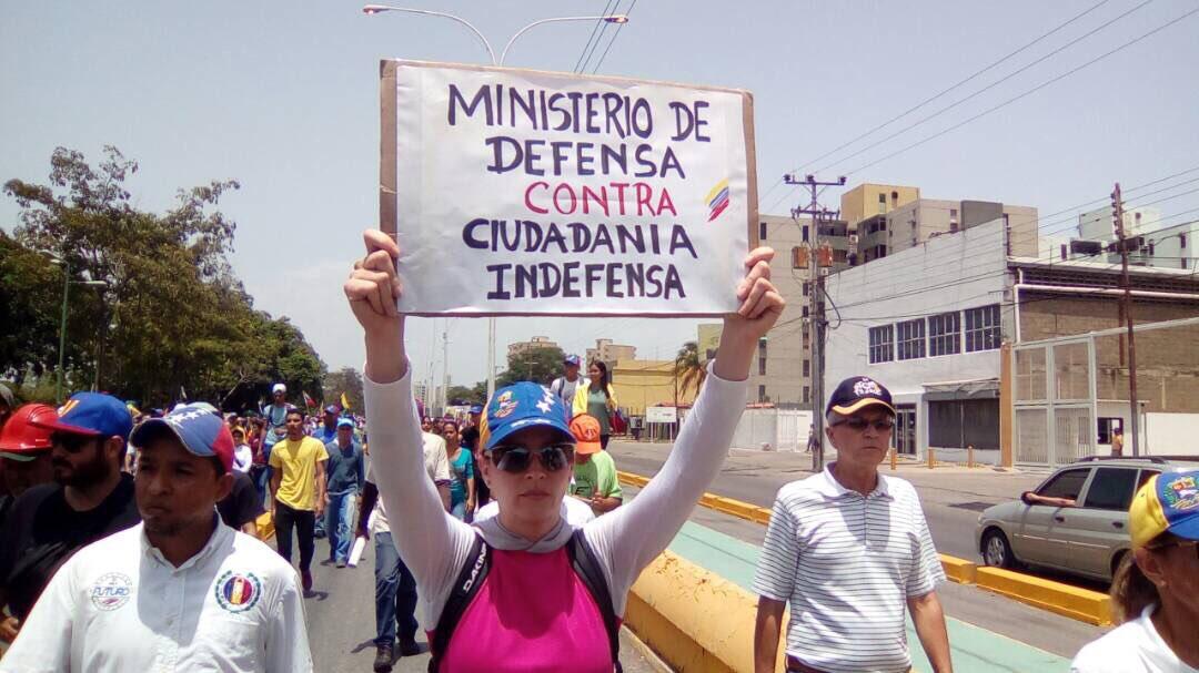 Resultado de imagen para Ciudadanía indefensa en venezuela