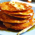 Image for the Tweet beginning: Recipe: Cornmeal johnnycakes are a