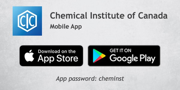Chemical Institute of Canada on Twitter: