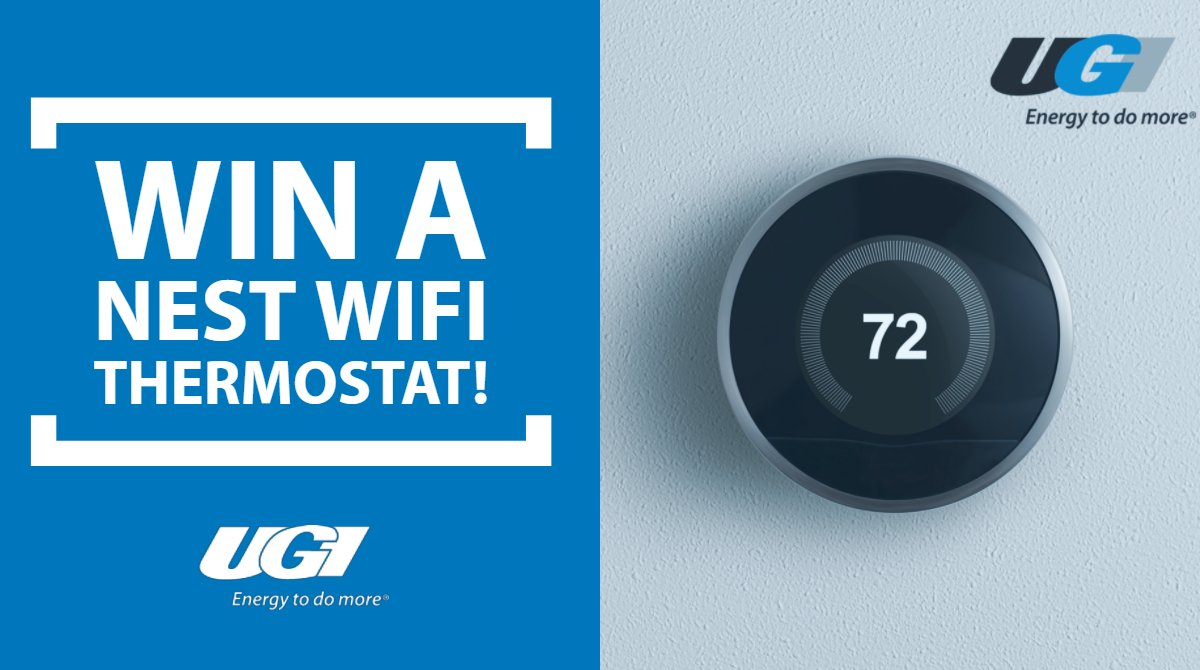 test Twitter Media - Win a FREE Nest smart thermostat from UGI! We're celebrating our new look for https://t.co/t8NDVb9vNh by giving away a WIFI thermostat. Enter for your chance to win: https://t.co/5BTFPSelqW   #contest #giveaway https://t.co/Guhpf0lDT4
