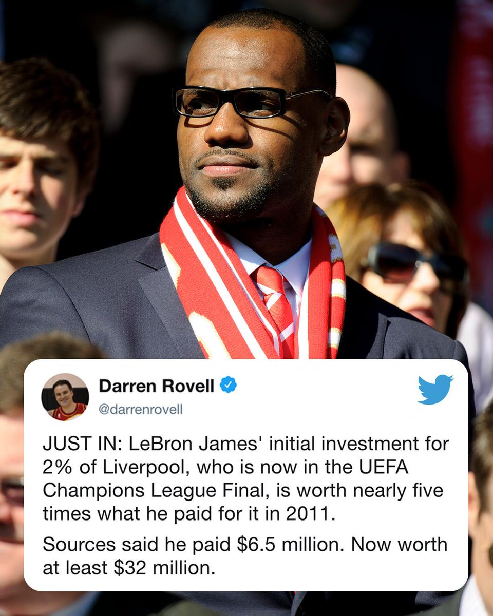 #UCLfinal today, Game 7 tomorrow.   There's a lot at stake this weekend for LeBron. (via @darrenrovell)