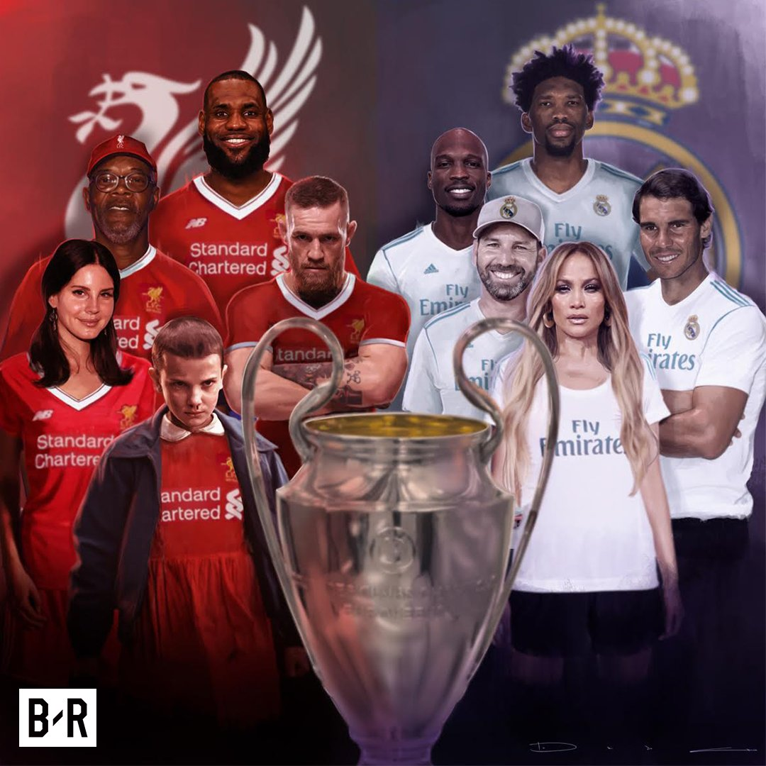The world will be watching Real Madrid vs. Liverpool.