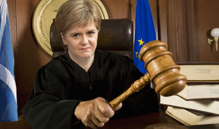&quot;Scotland! I hereby sentence you to 25 years of bread and water!&quot; #GrowthCommission   H/T @thebestbond - &#39;Judge Nippy&#39;<br>http://pic.twitter.com/j5cnB14S2m