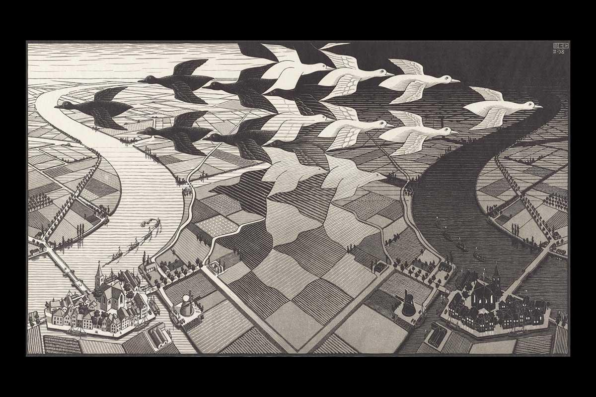 Escher's Journey: there's more to this artist than his maths https://t.co/26eNMp6XhD