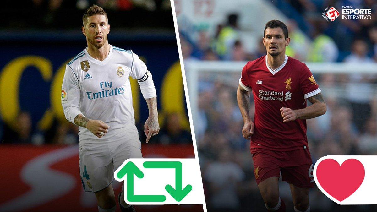 Sergio Ramos e Lovren: Quem você prefere? #FinaldaChampions