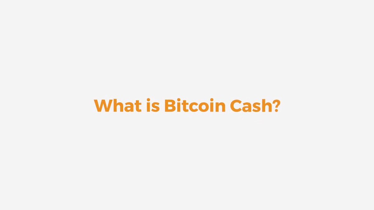 Image for the Tweet beginning: Quick explainer: What is Bitcoin