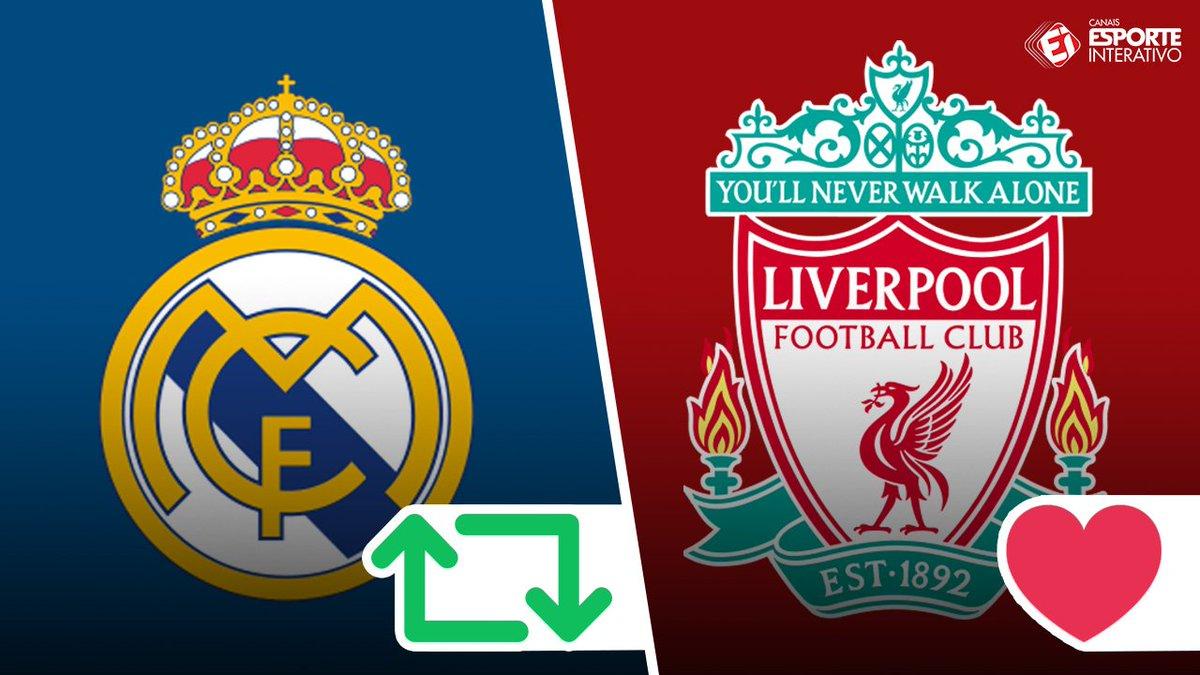 Real Madrid e Liverpool: Quem você prefere? #FinaldaChampions