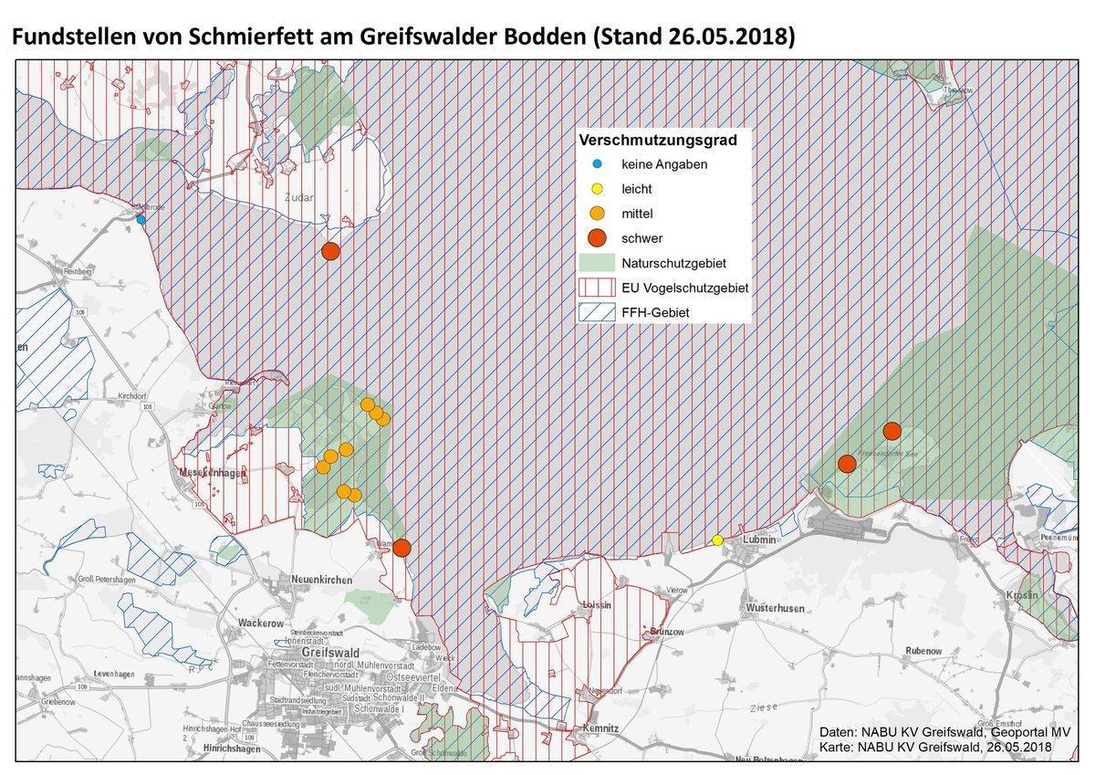 Greifswald Karte.Dr Kim Detloff On Twitter Karte Nabu Greifswald Zur