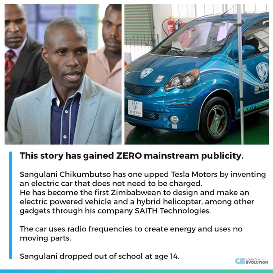 19 50 Kenyantraffic First Car Invented That Uses No Electricity To Charge You Ve Never Heard Of It Zimbabwe Africantechnologypic Twitter Kcmlx4o8c3