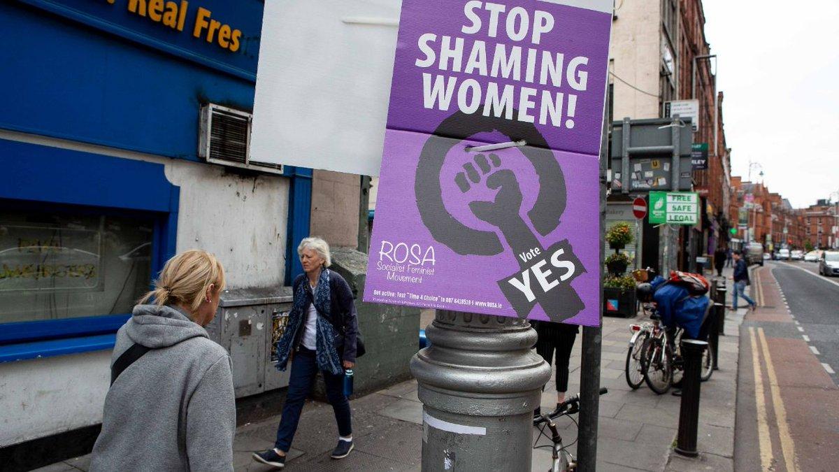 Irlanda, referendum sull'aborto: il 66,4% ha votato a favore #irlanda https://t.co/ws1jGBqL9F