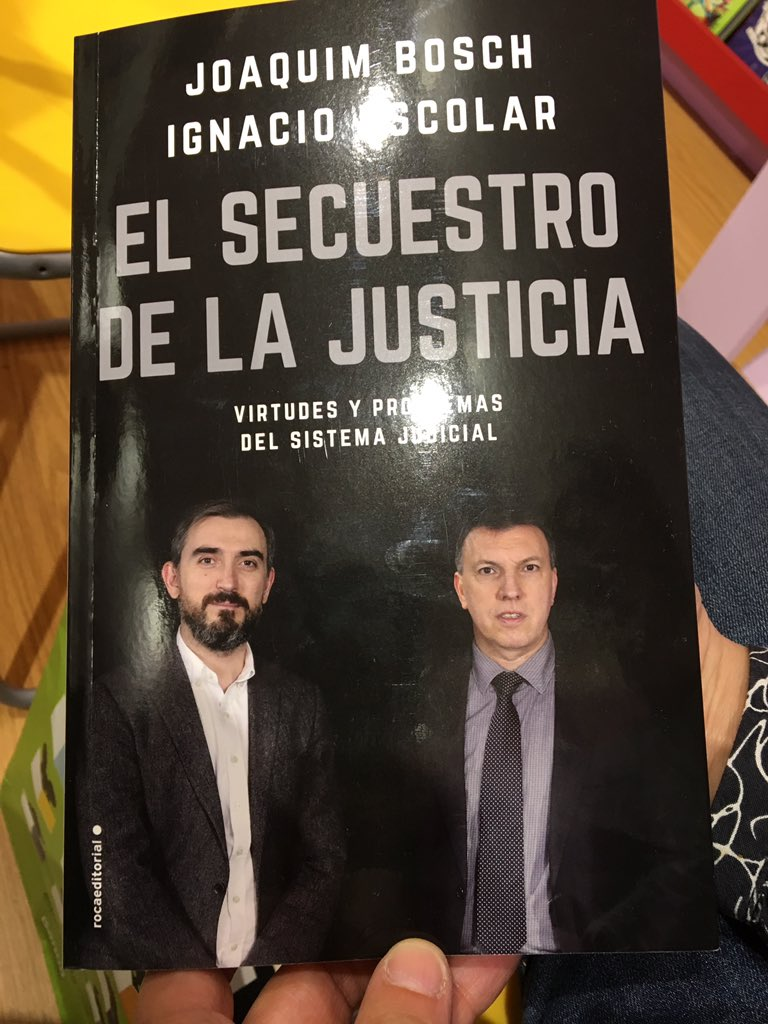 @JoaquimBoschGra Ja el tinc! Ganas de leerlo! #FeriadelLibro2018 #primaveraenMadrid @iescolar