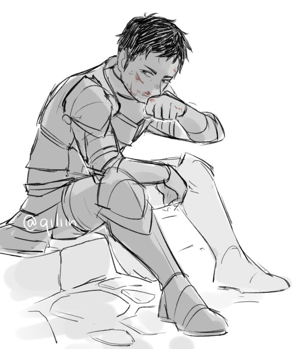 paladin!daichi taking a break after kicking some butts  (this is partly your fault @carriecmoney i hope you know that)<br>http://pic.twitter.com/QR0PhSRgHN