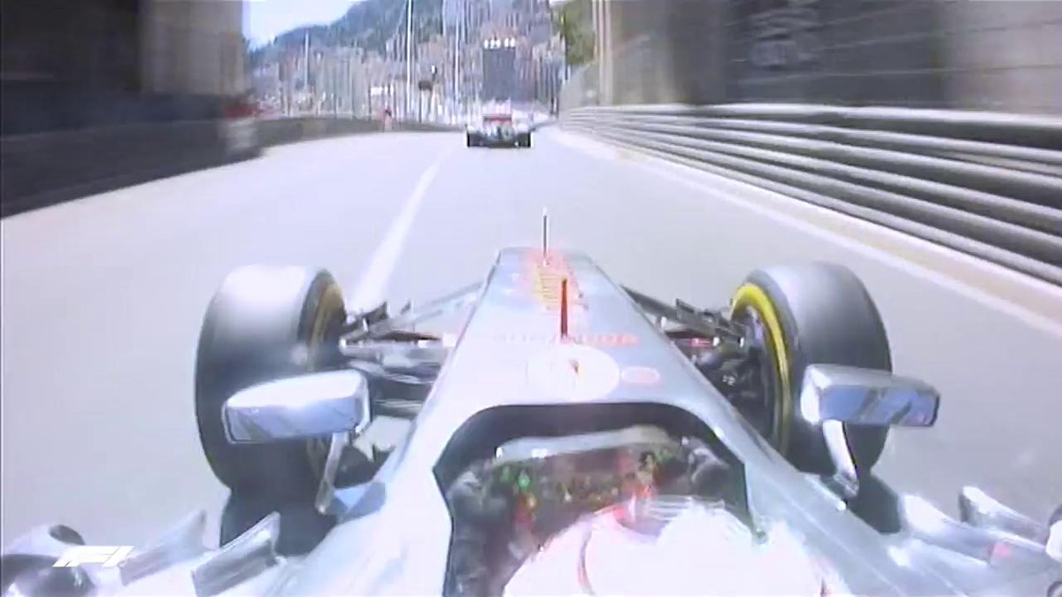 Remember Checo Perezs eventful race at Monaco back in 2013?  Among a number of ambitious overtaking attempts was this beauty on McLaren team mate Jenson Button 👌  #MonacoGP #OnThisDay