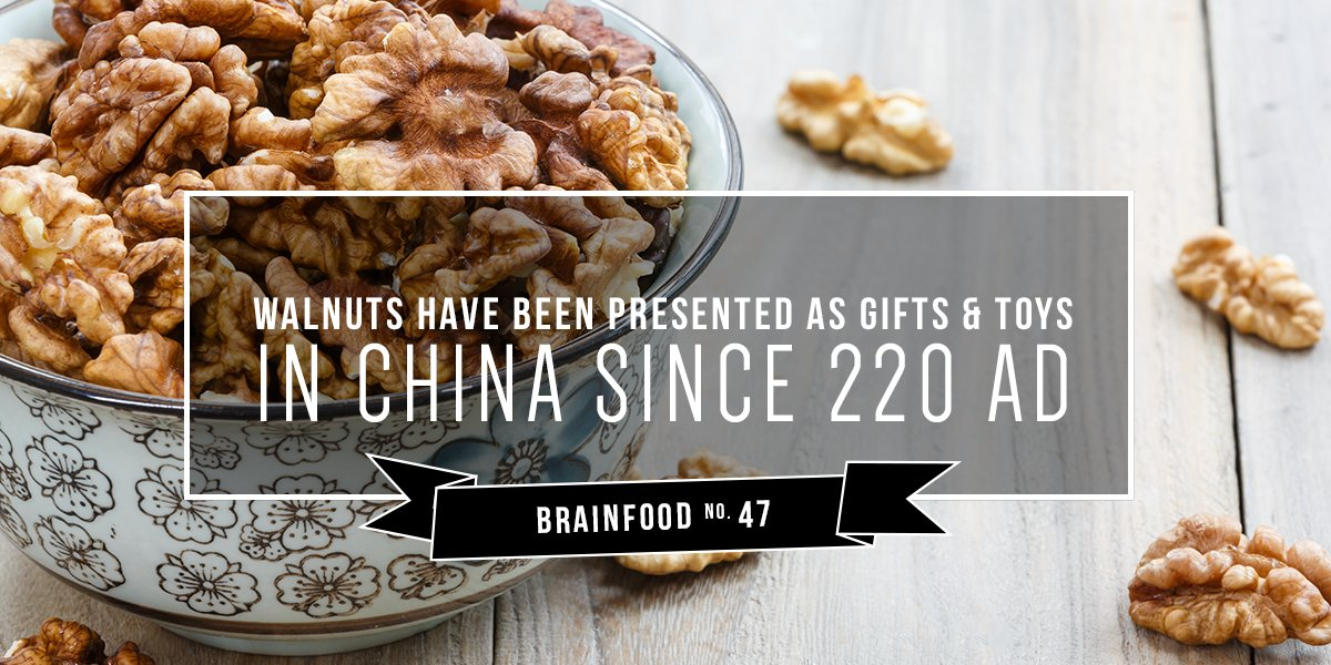 California Walnuts On Twitter Considered A Symbol Of Status
