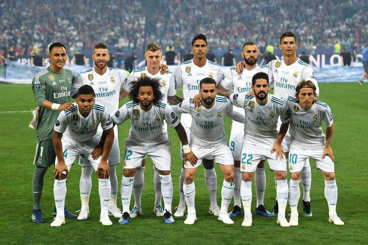 """""""Реал"""" (Мадрид). Фото: UEFA.com"""