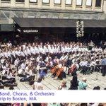Image for the Tweet beginning: Kellenberg Memorial's band, chorus, and