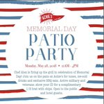 Need #MemorialDay plans? Head to Achie's at the Omni Hotel at the Battery Atlanta for a patio party! Heads up: spend $25 at Achie's for a day pass to the 5th floor pool deck. https://t.co/WbEuJ121xC