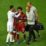 RT @BleacherReport: Ronaldo comforting Salah as he...