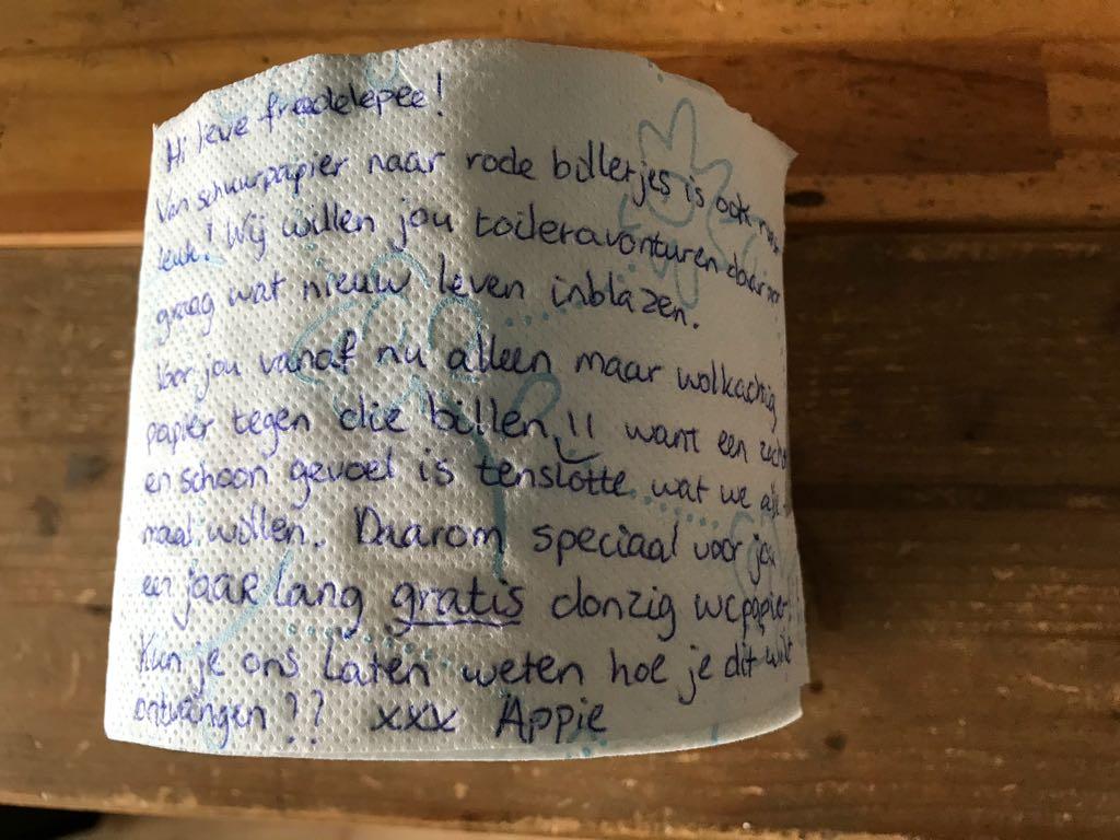 Ah Wc Papier.Freeda Henk Veen On Twitter Jaar Lang Toiletpapier Als Troost
