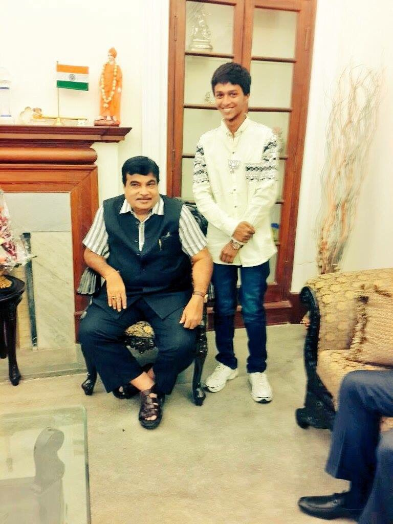 Former National president & Now transport Minister Hon\ble Saheb wish u happy birthday...