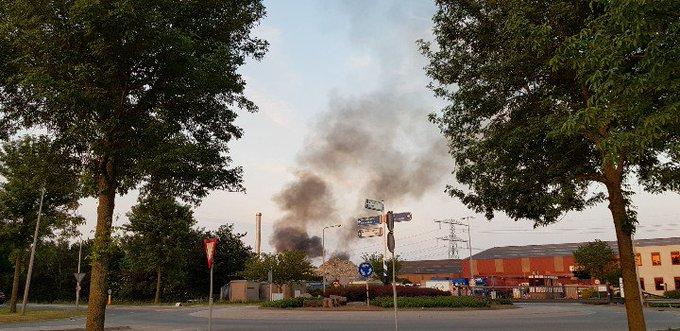 Wateringen Weer brand bij van Vliet containers https://t.co/kJNvZxPcCQ