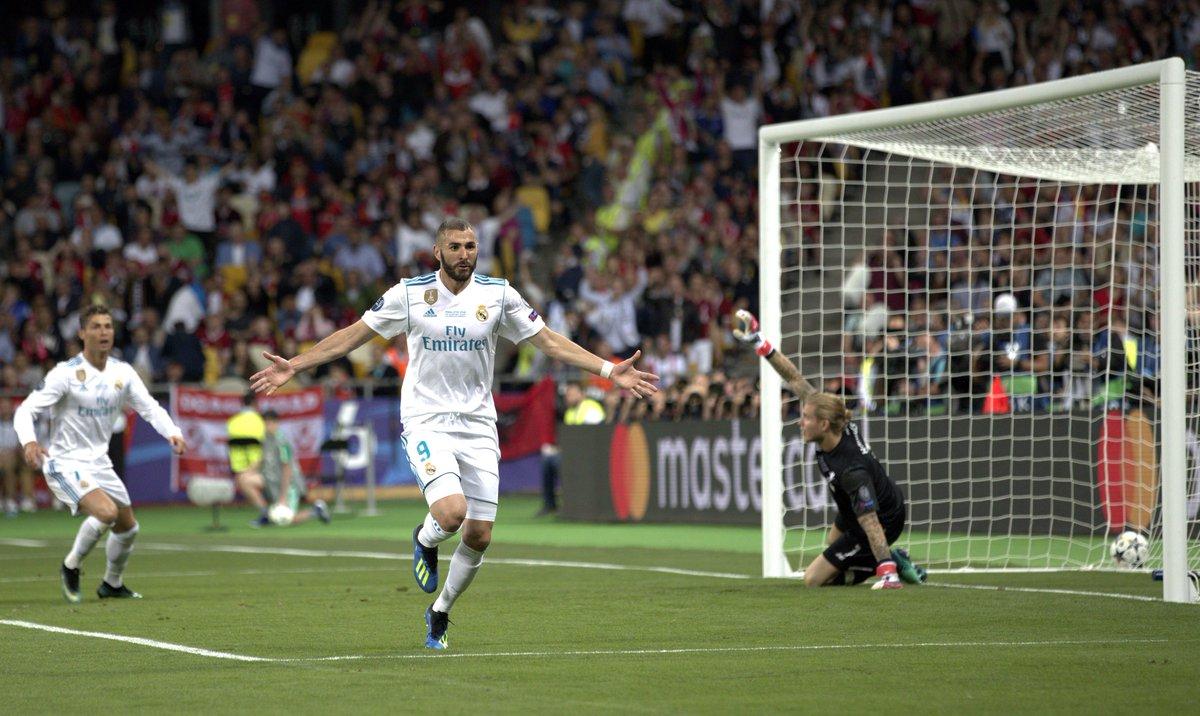 ¡Gol de Benzema! Real Madrid 1 - Liverpool 0 (min. 50) #endirecto https://t.co/9xyOUIeBFL #Champions #UCLfinal