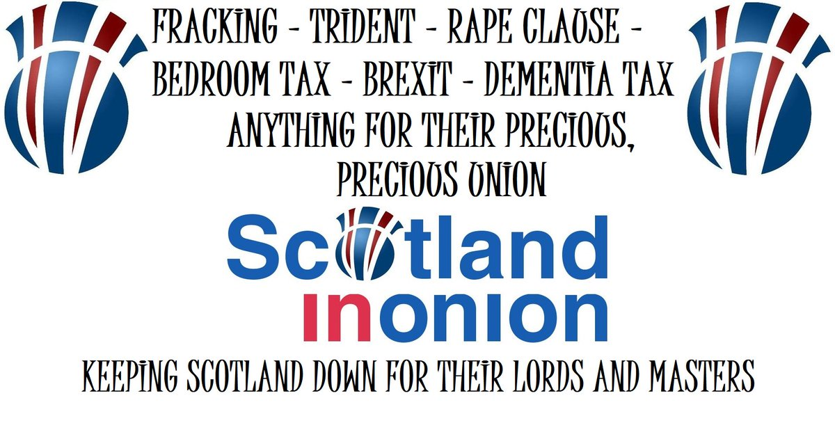 Scotland in Onion prepare a list of benefits for being part of their precious United Kingdom... @WingsScotland @Zarkwan @MrMalky @LabourOutOfScot @PhantomPower14  #SiU #BetterTogether was their biggest damn lie -   https://www. facebook.com/photo.php?fbid =772518832953237&amp;set=a.142932825911844.1073741835.100005853819125 &nbsp; … <br>http://pic.twitter.com/LKWn7n7yGO
