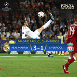 ⏰FULL TIME! ⏰ Real Madrid make it THREE #UCL titles in a row 🏆🏆🏆  #UCLfinal