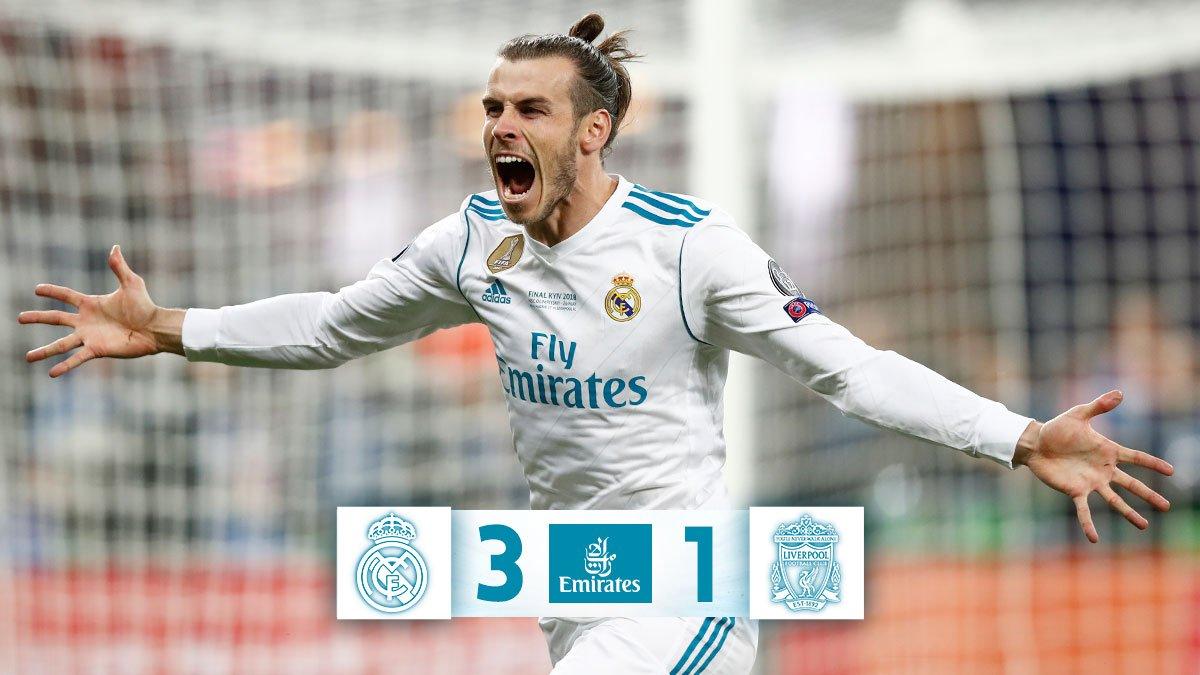 Chấm điểm kết quả Real Madrid 3-1 Liverpool