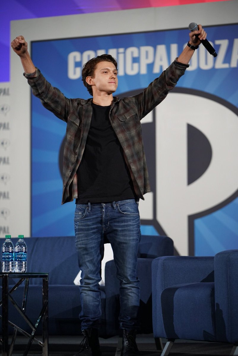 Comicpalooza on twitter tom holland qa happening now dont miss to meet tom holland by purchasing one of the last remaining photo ops before they sell out m4hsunfo
