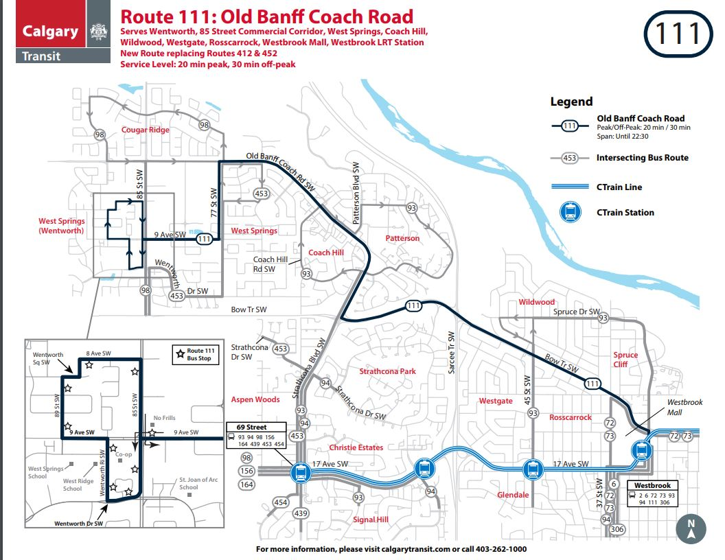 Calgary Transit On Twitter Ctriders Starting Monday June 25 2018 There Are 4 New Or Modified Bus Routes In West Calgary One Of These Routes