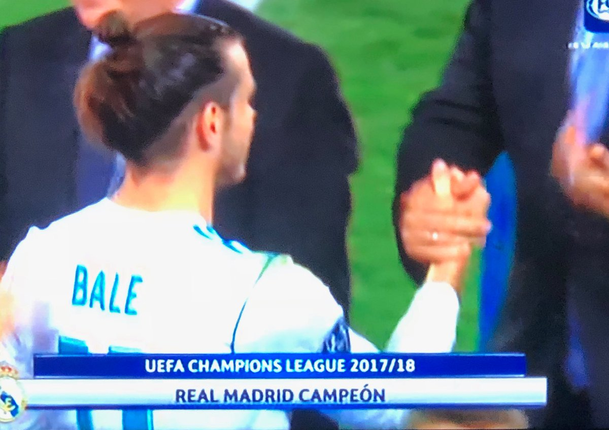 Man of the Match: #Bale  #uclfinal #halamadrid #champions #liverpool